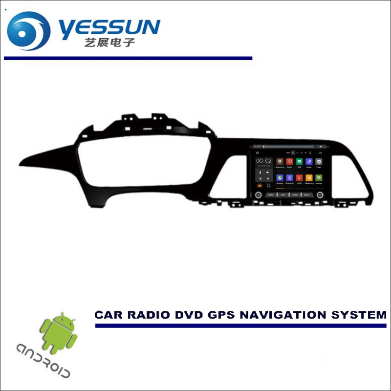 YESSUN Wince / Android Car Multimedia Navigation For Hyundai Sonata LF 2015~2017 LHD CD DVD GPS Player Navi Radio Stereo Screen yessun for mazda cx 5 2017 2018 android car navigation gps hd touch screen audio video radio stereo multimedia player no cd dvd