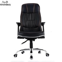 Homdox Ergonomic PU Leather High Back Office Chair with Armrests N40*