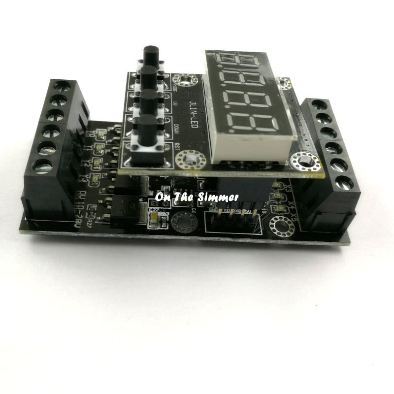 Domestic PLC Industrial Control Board Digital Tube Machine FX1N_10MT, Delay Module Can Be A Large Number Of Spot Pen