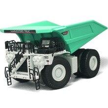 Ingegneria della lega modello di auto camion miniera auto grande meccanico metallo dumper kid boy toys collection regalo