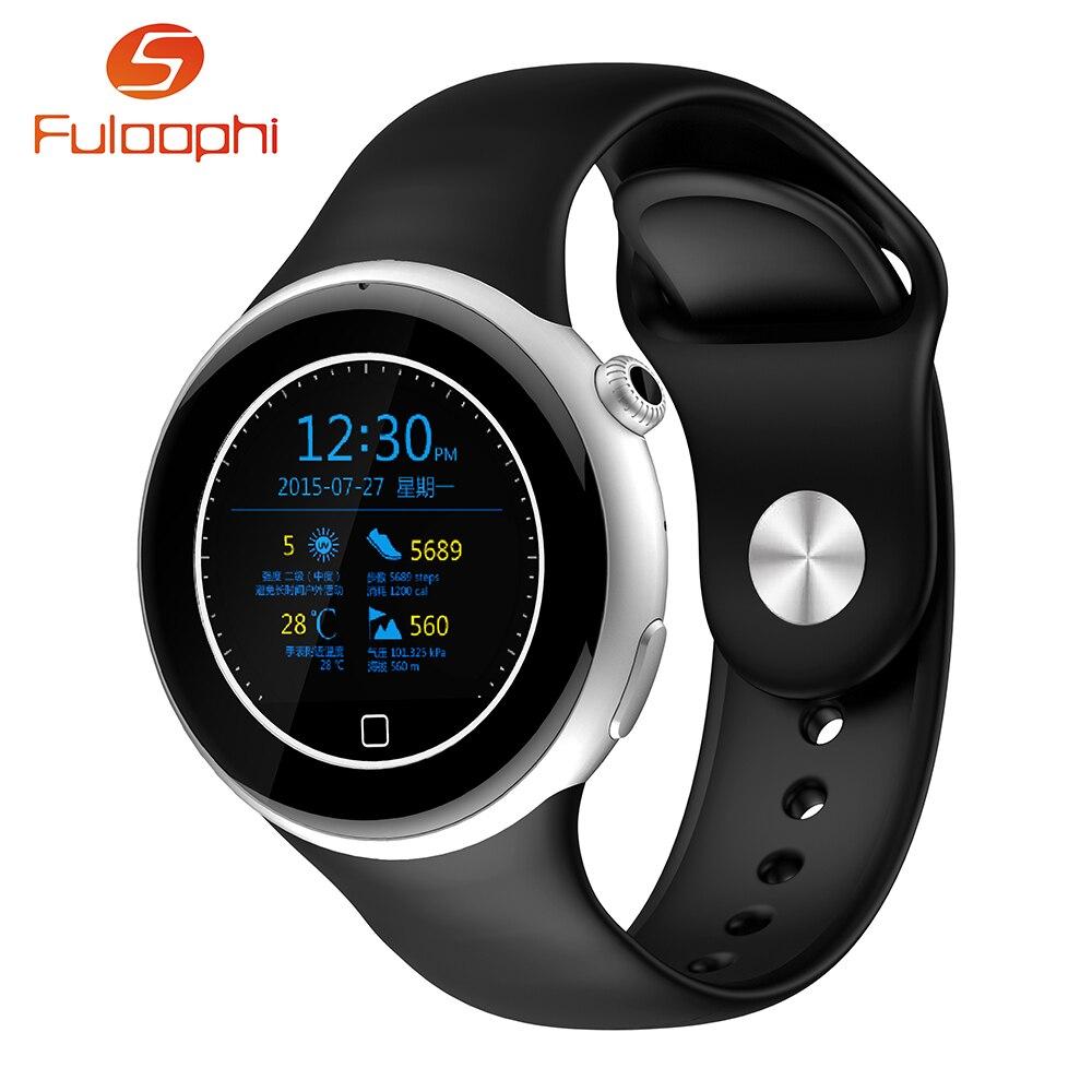 Aiwatch c5 reloj monitor de ritmo cardíaco 360 grados de rotación de la corona b