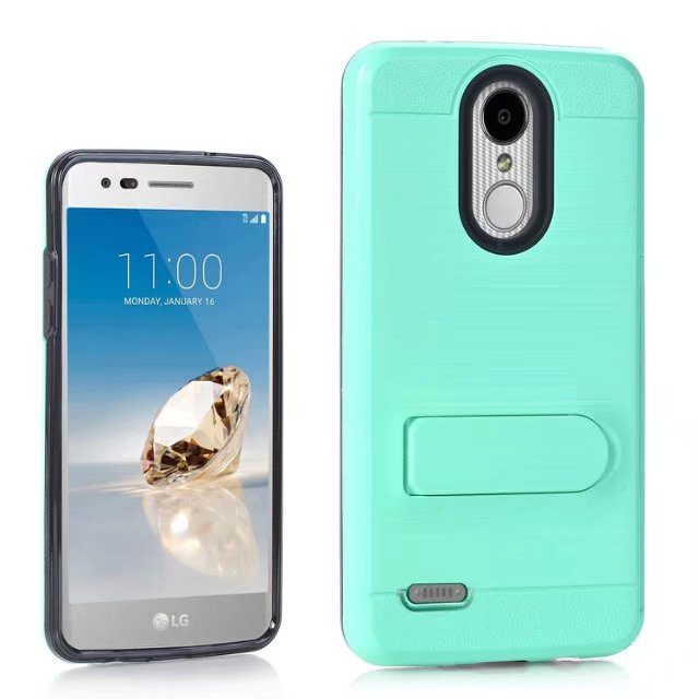 US $6 98 |For LG Tribute Dynasty LG Zone 4 Hybrid Armor Diamond Rugged  Bling case PC Silicon back case For LG Aristo 2 Tribute Dynasty-in Fitted  Cases