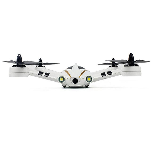 Xk x252 12.0mp brushless 2.4 ghz 7ch rc quadcopter helicóptero rtf modo sin cabeza