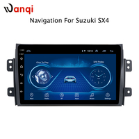 9 inch Android 8.1 2.5D Tempered HD Touchscreen Radio for Suzuki SX4 2006 2013 with Bluetooth USB WIFI support SWC