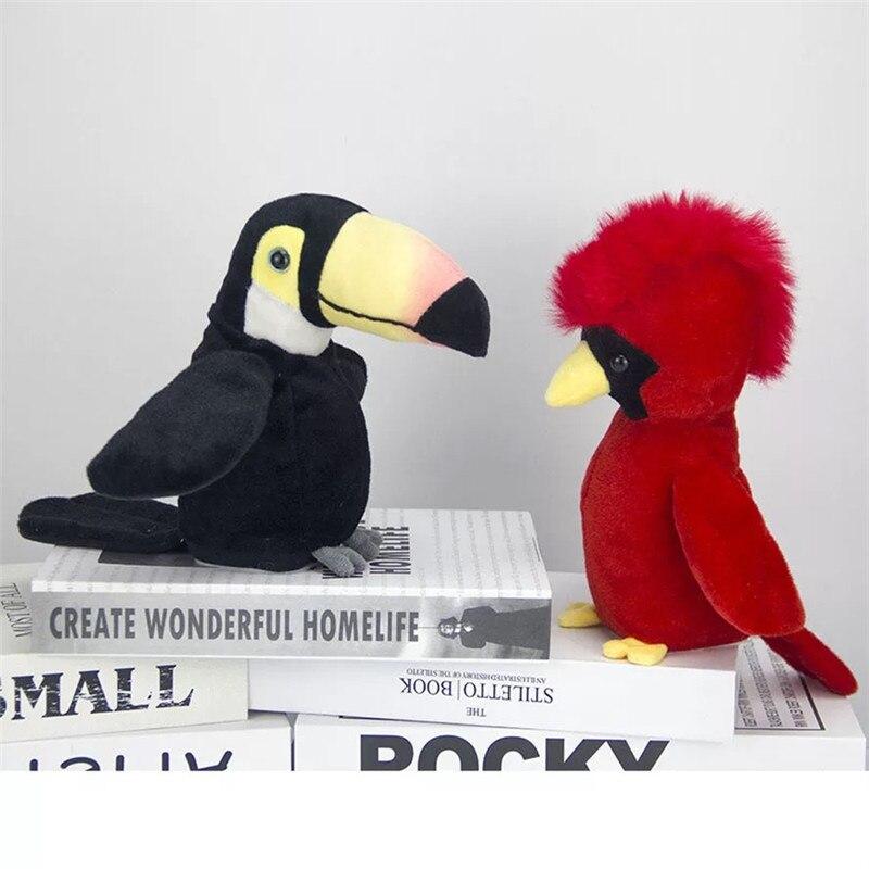 Toys & Hobbies Kids Cute Plush Toy Electric Talking Parrot Toys Record Speak Waving Wings Stuffed Plush Bird Toys For Children Electronic Plush Toys