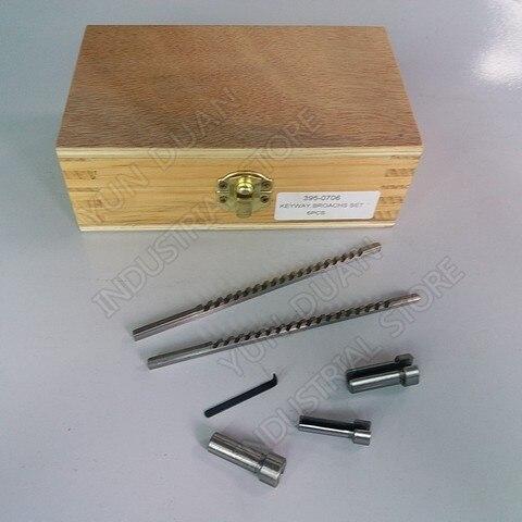 Broach tipo Push Corte de Mato e Calço Ferramenta para Cnc Abordar Chaveta Kits Milímetros & 6 8 10 Colarinho Hss Brochar Metalurgia Pcs 2mm 3