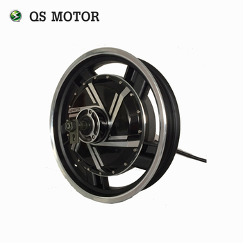 QS MOTOR Electric in wheel hub motor 16inch 6000W 273 45H V3 Brushless DC Electric Scooter Motorcycle Hub Motor