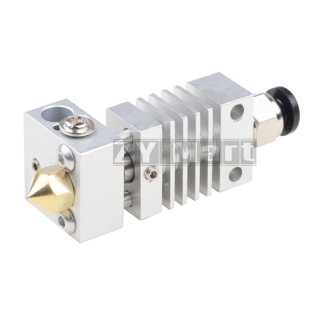 Alle Metall Hotend Kit upgrade CR10 extruder Titan Legierung heizung brechen 1,75 MM 4,1 MM für Creality CR-10 Drucker Hohe temperatur