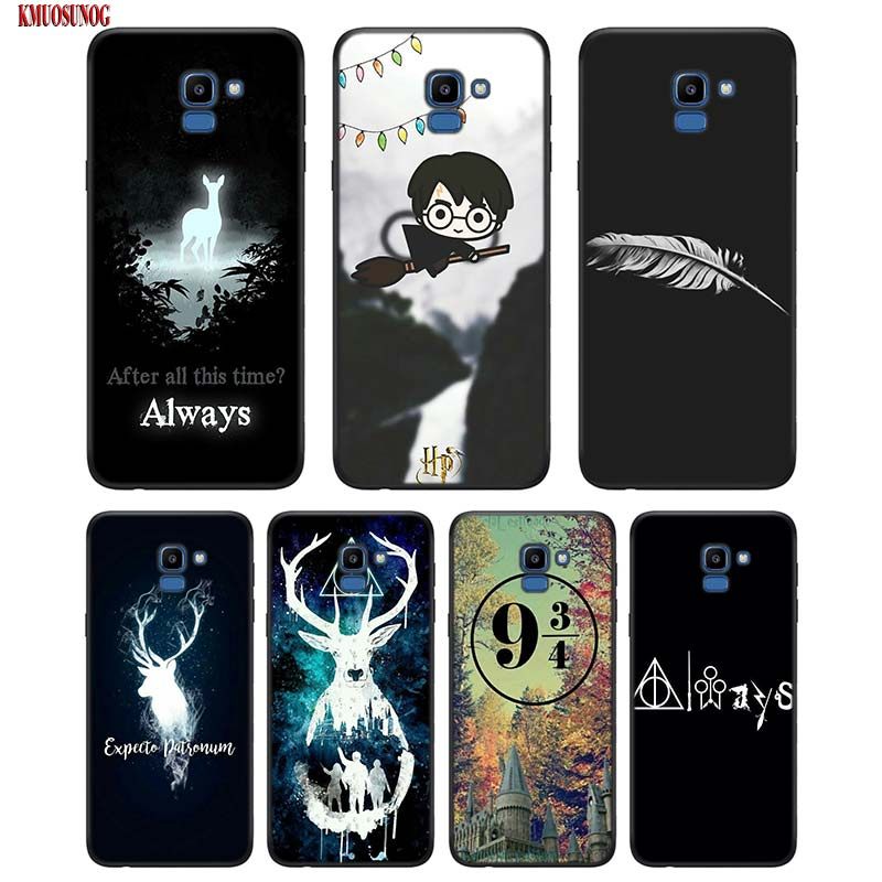 Black Silicon Phone Case All This Time Always For Samsung Galaxy j8 j7 j6 j5 j4 j3 Plus Prime 2018 2017 2016 Cover image