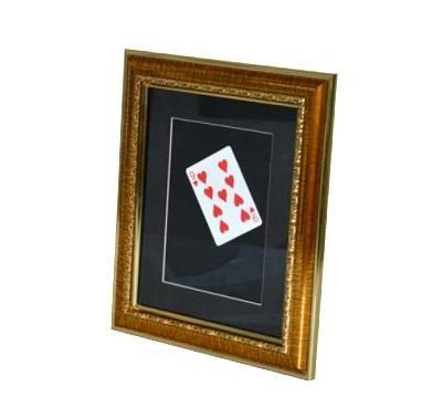 Carte Flash dans le cadre Photo, tours de magie de carte, amusement, magie de rue, gros plan, accessoires de magie, Illusions, jouets, carte magique apparaissant