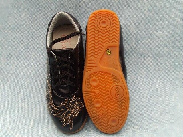 Véritable Doux De haute Qualité Arts Martiaux Chaussures Tai Chi L'entraînement Dragon Chaussures Kung Fu Baskets