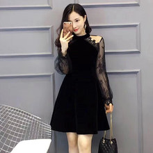 0fcdad97d2b7e Black French Lace Dress Promotion-Shop for Promotional Black French ...