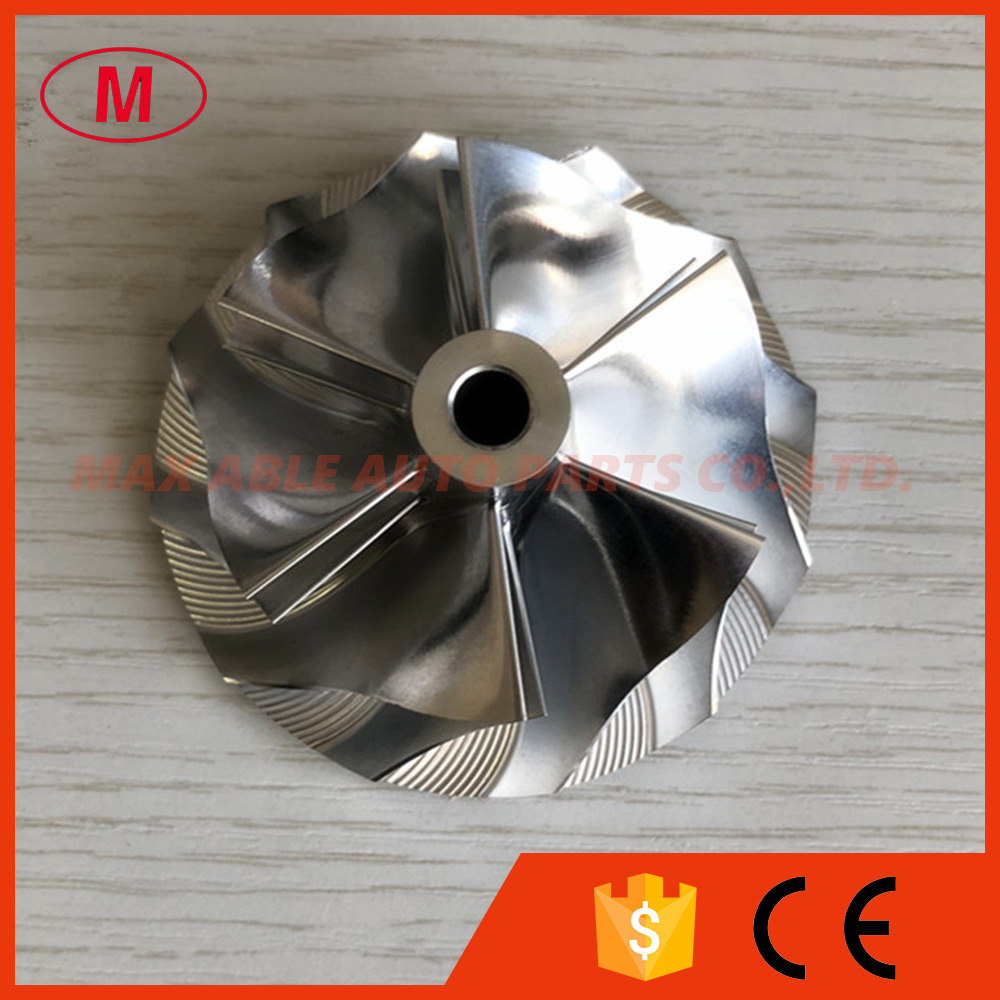 TD05H 20G reverse 6 6 blades 52 56 68 01mm 49179 43400 reverse Turbo Billet milling