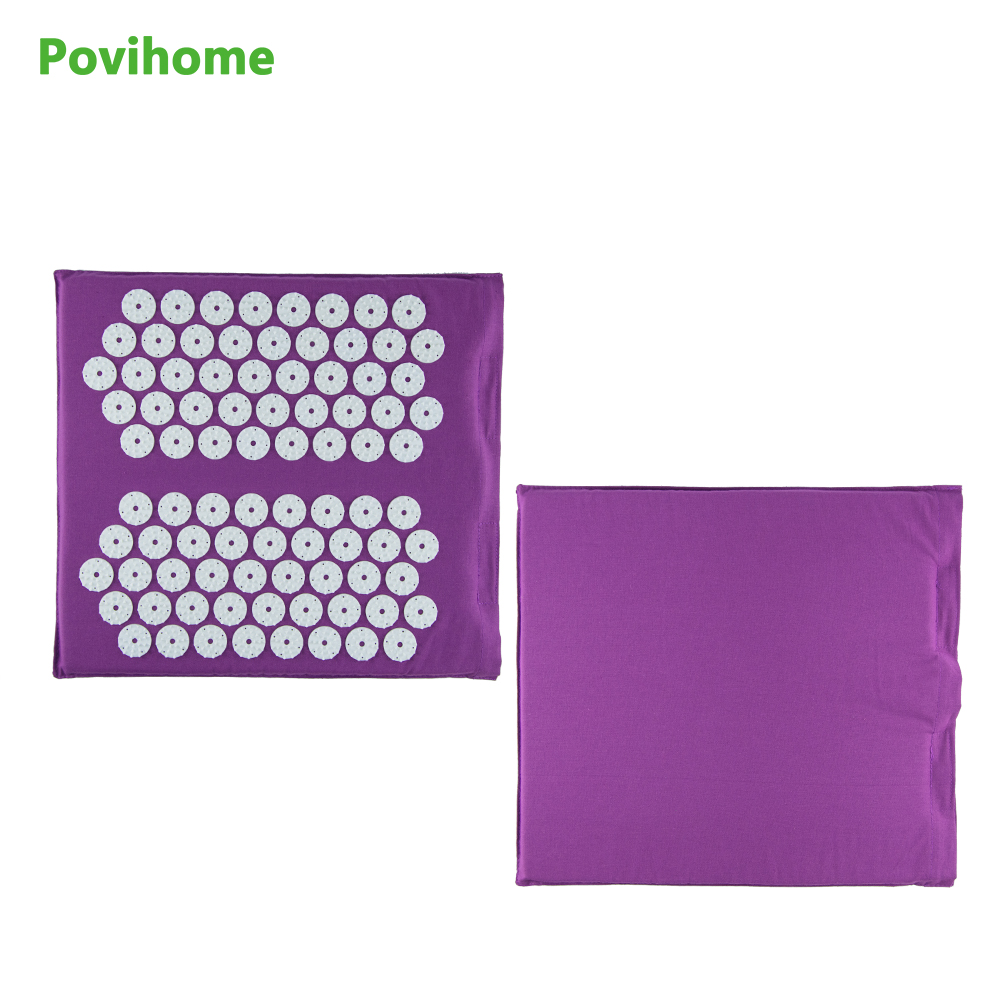 Povihome Foot Care Chinese Acupressure Massage Pads Square ...
