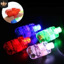 450pcs/lot Free Shipping DHL LED Finger Light Laser Beams Ring Torch For Party wedding celebration mix color With Opp