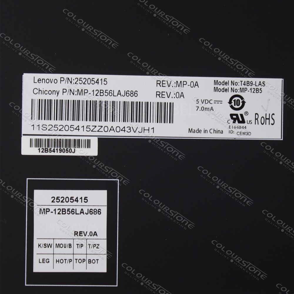 LA laptop keyboard for Lenovo Ideapad Y500 Y500N Y500NT Y500S Y510 Y510P Y590 Y590N Backlit Teclado Keyboard 25205415 MP-12B56LAJ686  (8)