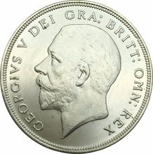 1934 Crown GEOROIVS V DEI GRA:BRITT:OMN:REX Brass Silver Plated Britain Untied Kingdom Copy Coin Can Choose The Different Years(China)