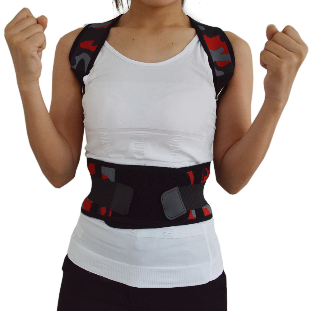 Women's Back Posture Corrector Back Braces Belts Lumbar Support Belt Strap Posture Corset for Men Health Care Size S M L XL XXL
