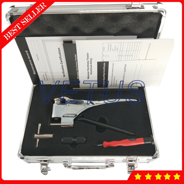 W-20 Digital Portable hardness tester price for good quality Aluminum Alloys Hardness Tester