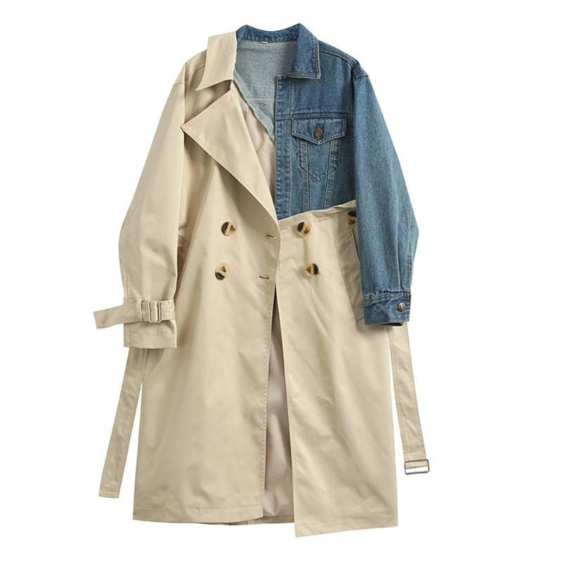 Autumn and winter-coat long sleeved-loose-women-fashion