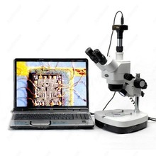 On sale Stereo Microscope Dual Halogen–AmScope Supplies 10X-80X Stereo Zoom Microscope Dual Halogen + 10MP Digital Camera