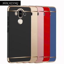 Luxury 3 in 1 Full Body Protection Plating PC Hard Case for