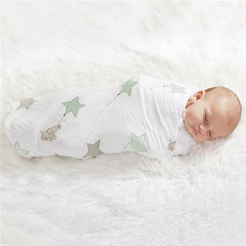 Organic Cotton Bamboo Multi-Purpose Swaddle Blanket - Beyond Baby Talk