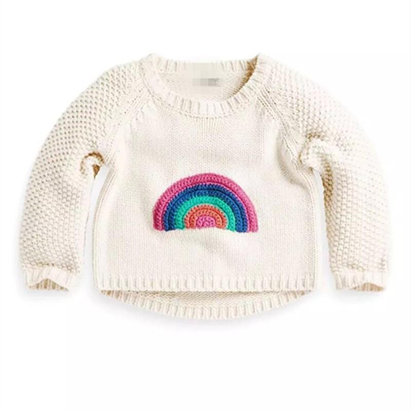 new-brand-children-sweaters-winter-autumn-cotton-rainbow-pattern-baby-girls-white-sweater-thick-toddler-kids