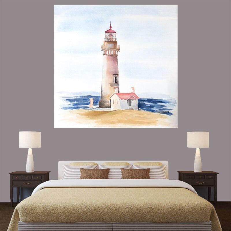 Aliexpress Com Buy 3 Piece Canvas Art Home Decoration: Aliexpress.com : Buy 1 Piece HD Abstract Lighthouse Wall