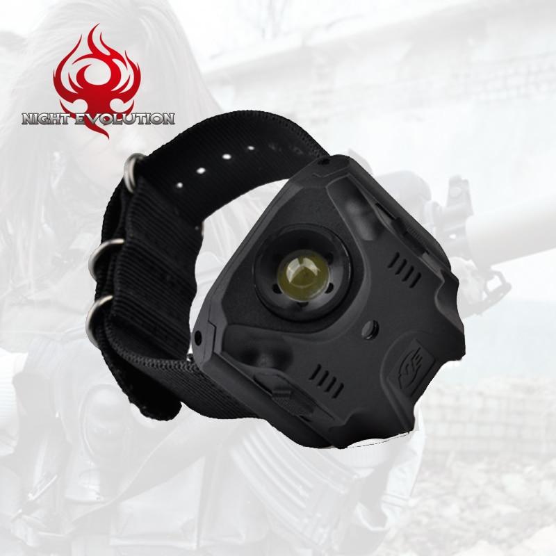 NE09001 Element Variable-Output LED Wrist Light Tactical light Watch indicator SUB socket Rechargeable Outdoor Use flashlight