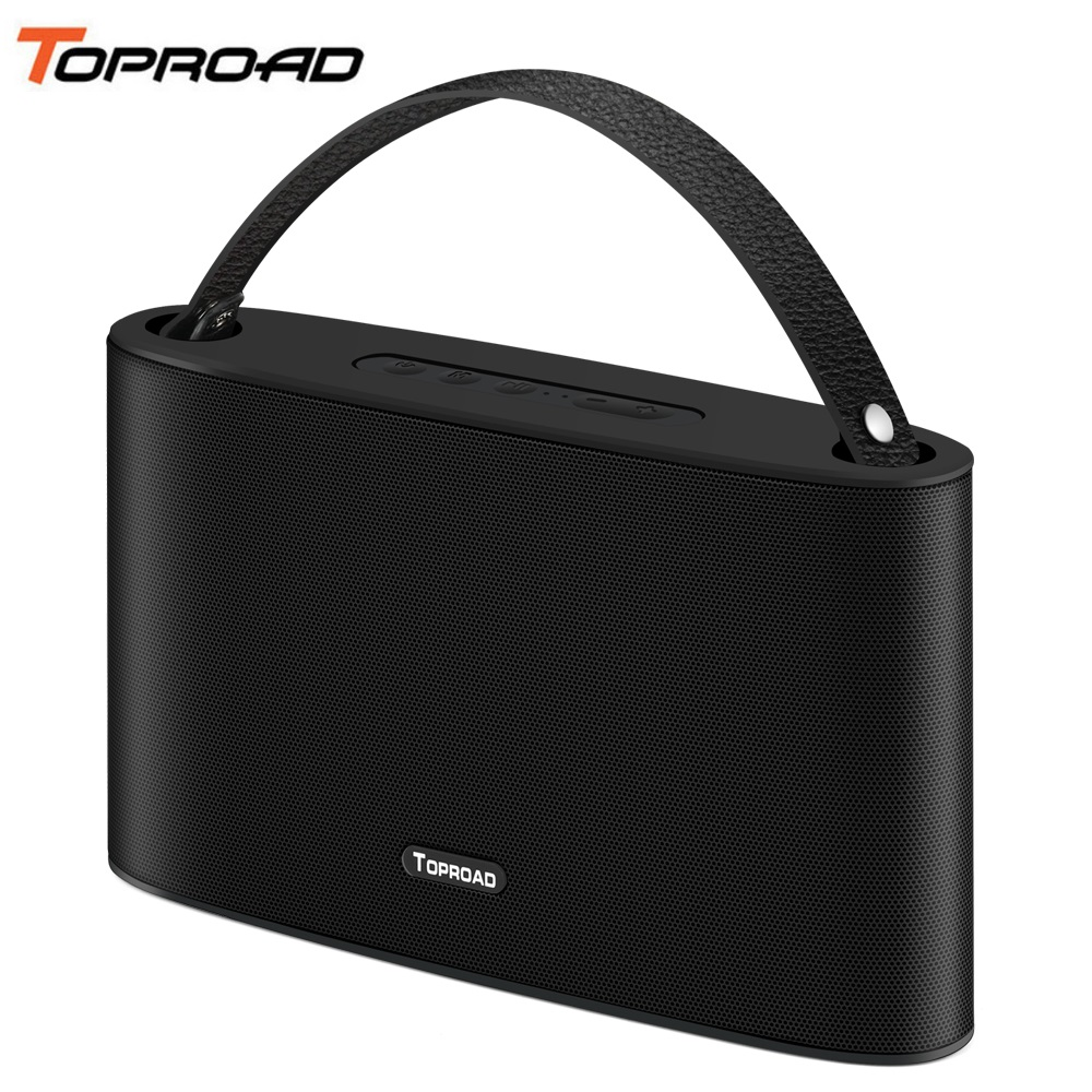 TOPROAD Bluetooth Speaker Big Power 20W Portable Super Bass Wireless Stereo Speakers Music Player Support FM