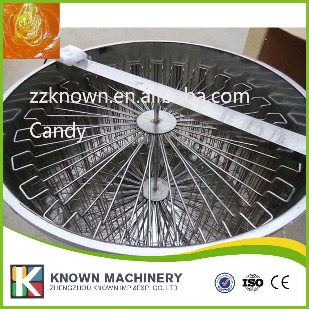Stainless steel electric motor 24 frames bee honey extractor for processing honey commercial automatic reversible 6 frames electric honey extractor