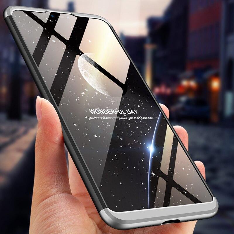 Versión Global Xiaomi mi 8 Lite X funda 360 grados protección completa PC duro a prueba de golpes mate funda para iao mi 8 Lite X|Fundas ajustadas|   - AliExpress