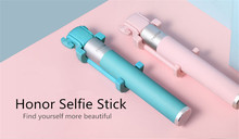 Original Huawei Honor Selfie Stick Wired Monopod Extendable Handheld Selfie Stick For Iphone X 8 Plus 7 6S Samsung S8 Smartphone