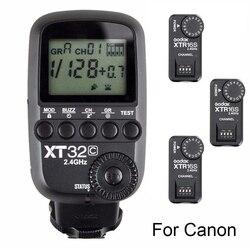 Godox XT32C 2.4G bezprzewodowy HSS wyzwalacz lampy błyskowej + 3x XTR-16 dla X1C X1N XT-16 nadajnik wyzwalania i AD360/DE /QT/DP/QS/GS/serii GT