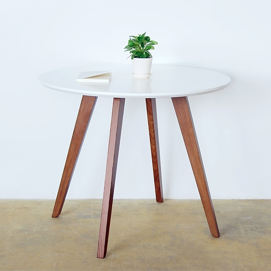 small round table. Aliexpress.com : Buy Squeak Sound Ka Ruili Roundtable Paint Small Apartment Dining Table , Solid Wood Furniture Designer Scandinavian Minimalist Ikea From Round A