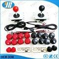 Arcade Joystick DIY Kit Zero Delay Arcade DIY Kit USB Encoder To PC Arcade Sanwa Joystick + Sanwa Push Buttons For Arcade Mame
