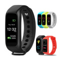Hongsund l30t faixa dinâmica do bluetooth inteligente heart rate monitor a cores tft-lcd tela smartband para apple ios smartphones