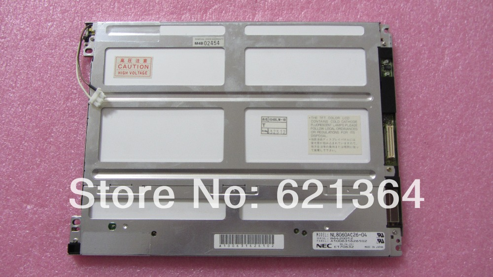 NL8060AC26 04 Профессиональный ЖК экран для промышленного экране