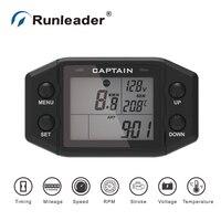 Runleader Multi Functional Meter Digital Hour Meter Chainsaw Tachometer Bike Thermometer Motorcycle Voltmeter Car Odometer