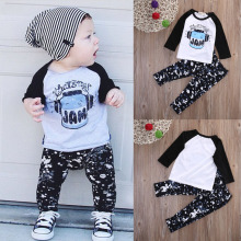 2pcs Newborn Toddler Kids Camouflage Outfits Infant Baby Kids Boy Inkwell T-shirt Tops+Pants Outfits Set Clothing 2019 стоимость