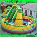 Детский надувной парк развлечений, 8 препятствий, fun city надувной воздушный замок для продажи