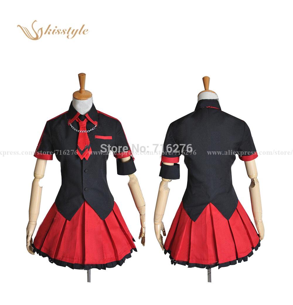 Anime Blood-C Kisaragi Saya Girl Cloth Uniform Cosplay Costume