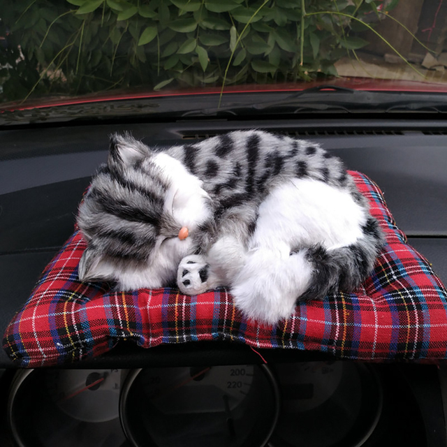 Car Decoration Simulation Cat Ornaments Air Fresheners Home Office