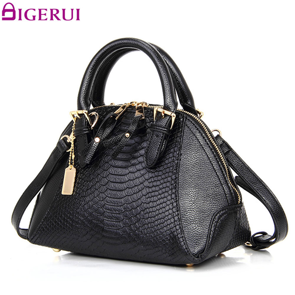 DIGERUI Famous Brand New Handbag Women Luxury Serpentine Shoulder Bag Shell Bag High Quality Messenger Bags