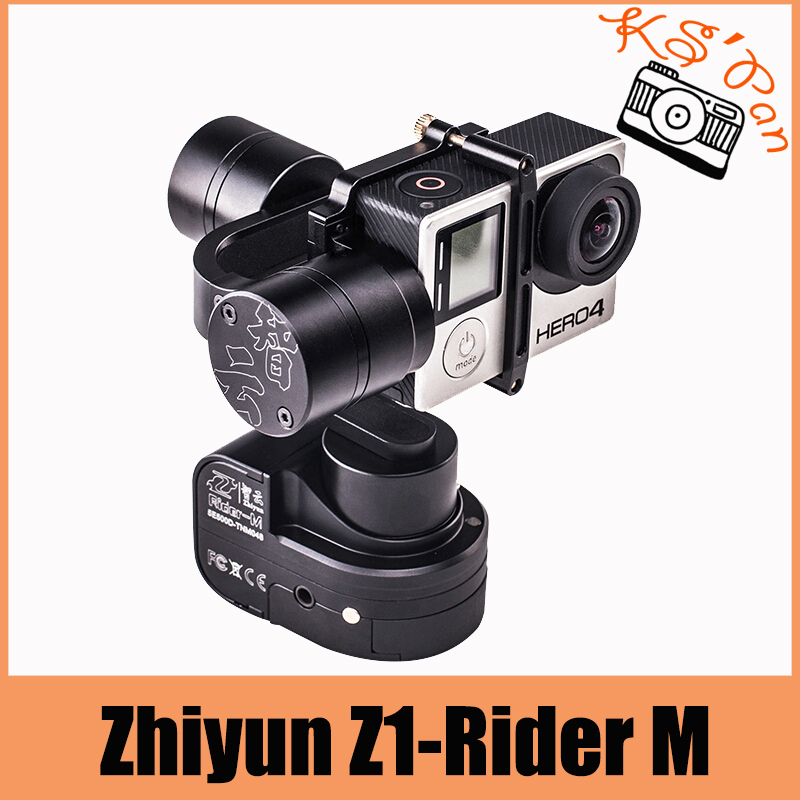 цена на Fotopal Zhiyun Z1-Rider M WG Wearable 3 Axis Brussless Camera Gimbal Stablizer for Gopro With APP Remote Control