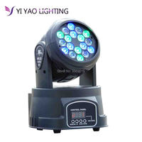 Professional DMX 512 beam Mini Moving Head Light 18x3w Disco KTV Club Party LED Stage