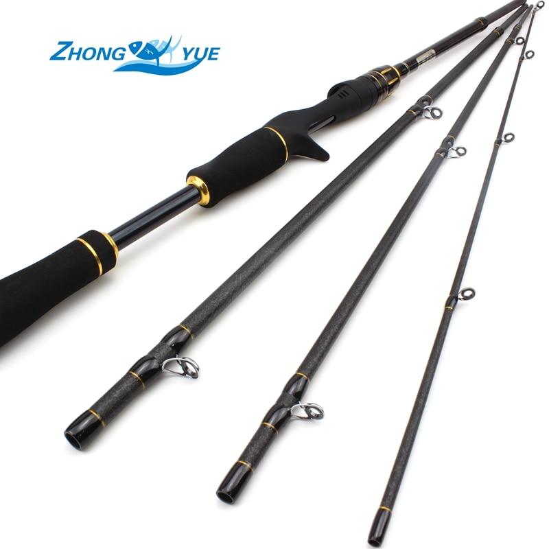 High Quality Fishing Rod Spinning Casting Rod Fiber Telescopic 2.1M - Fishing