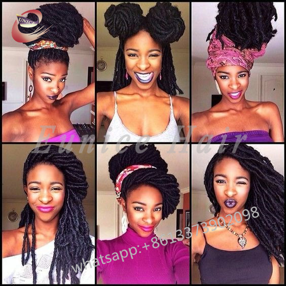 Full Colour Crochet Braids Afo Best Straight Hair Extensions24
