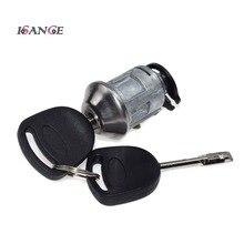 ISANCE зажигания Блокировка ключа зажигания комплект для ремонта 2 ключа для Ford Transit MK6 2000-2006 OEM#1022184& 94AG-A3697-AB& AA6T-11572-AA